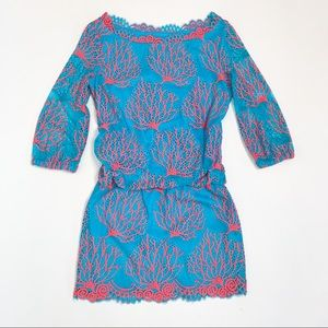 Lilly Pulitzer Cee Cee Coral Reef Mini Dress 2